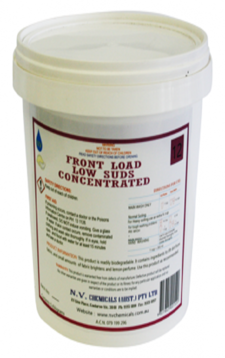 Front Load Low Suds Concentrated Laundry Powder