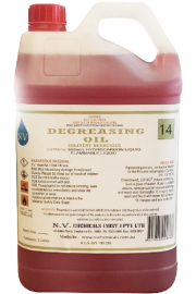 Degreasing oil