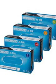 Blue Nitrile Gloves Med. Grade