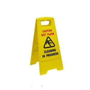Caution Sign Wet Floor